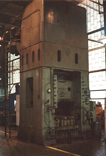 2000 Ton Press Hyd Bliss Housing Type