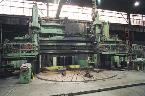 Schiess Vertical Boring Mill