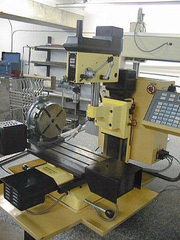 Dyna Myte 2400 Cnc Vertical Milling Machine