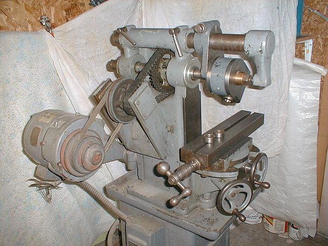 Burke Horizontal Milling Machine